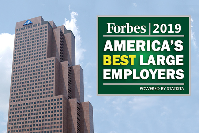 GP Named One of America's Best Large Employers By Forbes
