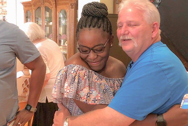 GP Employee Meets with Shared Liver Recipient for the First Time