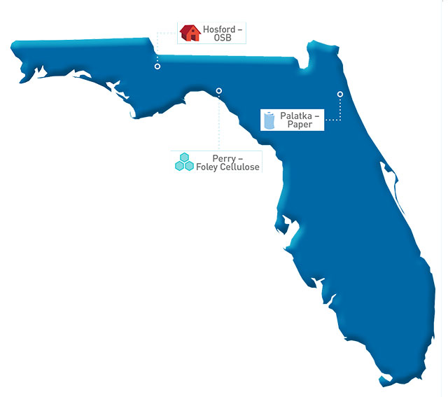 Florida Map of GP locations