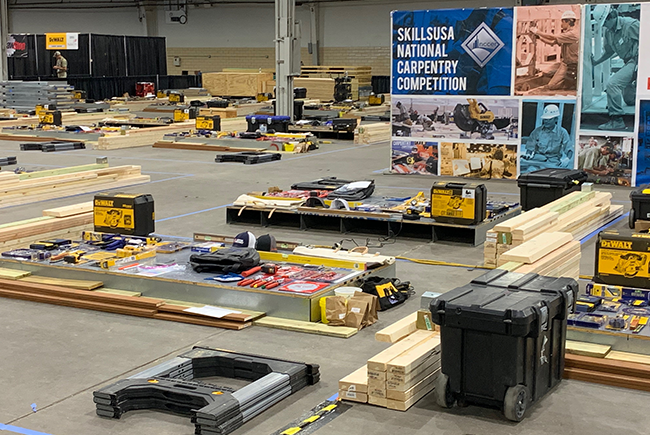 Georgia-Pacific Donates Load of Building Products to SkillsUSA to Get a Load of New Talent!
