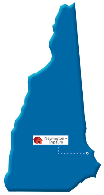 New Hampshire Map of GP locations