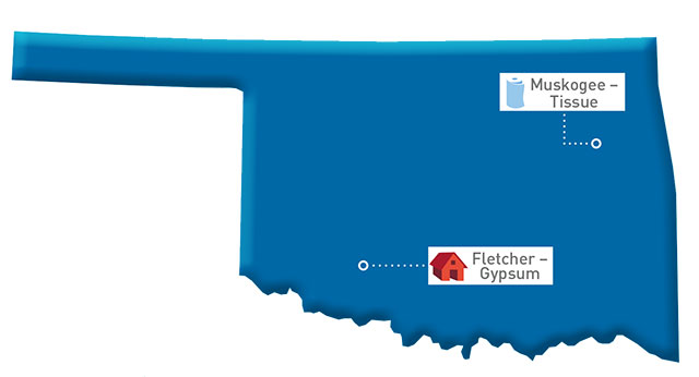 Oklahoma Map of GP locations