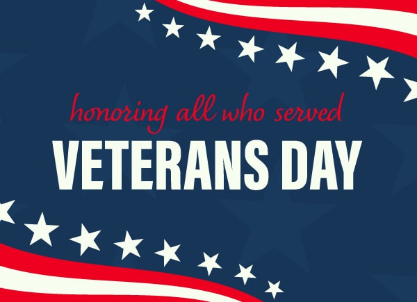 GP Celebrates Veterans Day!