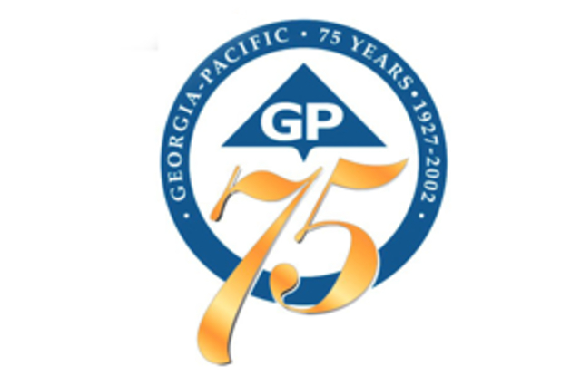 Georgia-Pacific celebrated the 75th year in business.