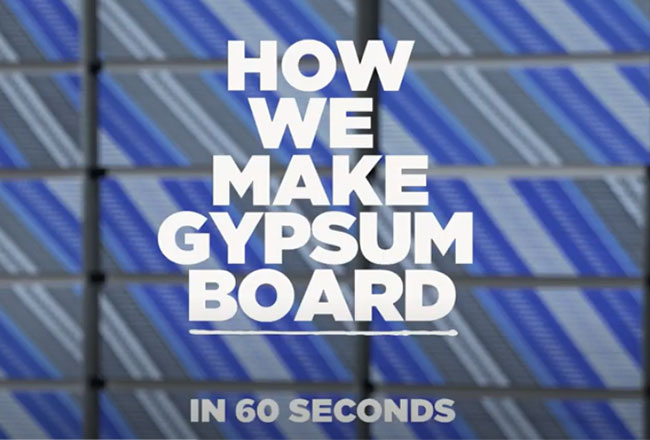 How we make Gypsum