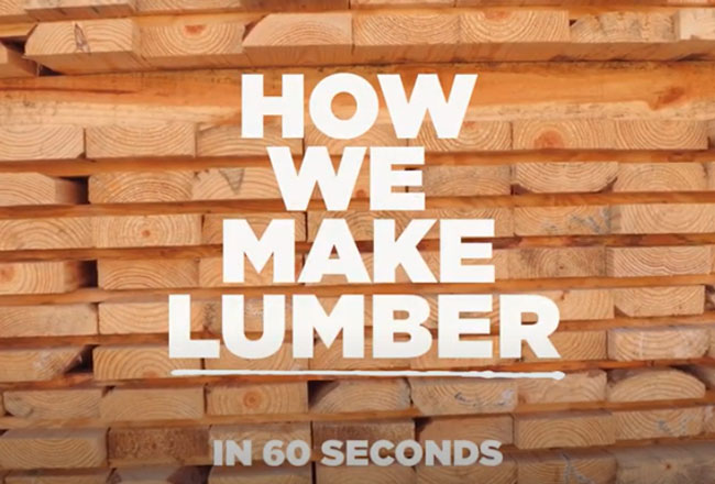 How we make lumber