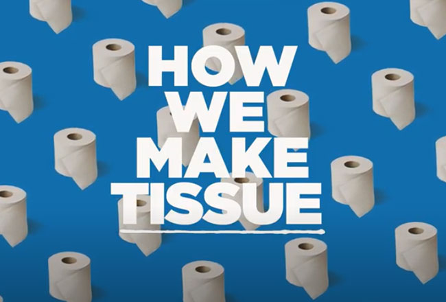 how we make tissue