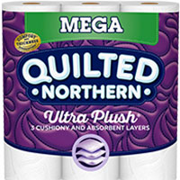 Georgia-Pacific Quilted Northern Toilet Paper Ultra Soft & Strong® & Ultra Plush®