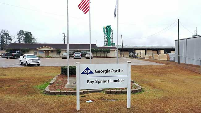 GP To Sell Fayette, Ala., Bay Springs, Miss., Philomath, Ore., and Dequincy, La., Operations To Interfor